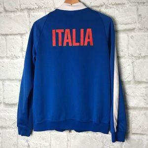Nike Soccer Italia Italy futbol track jacket